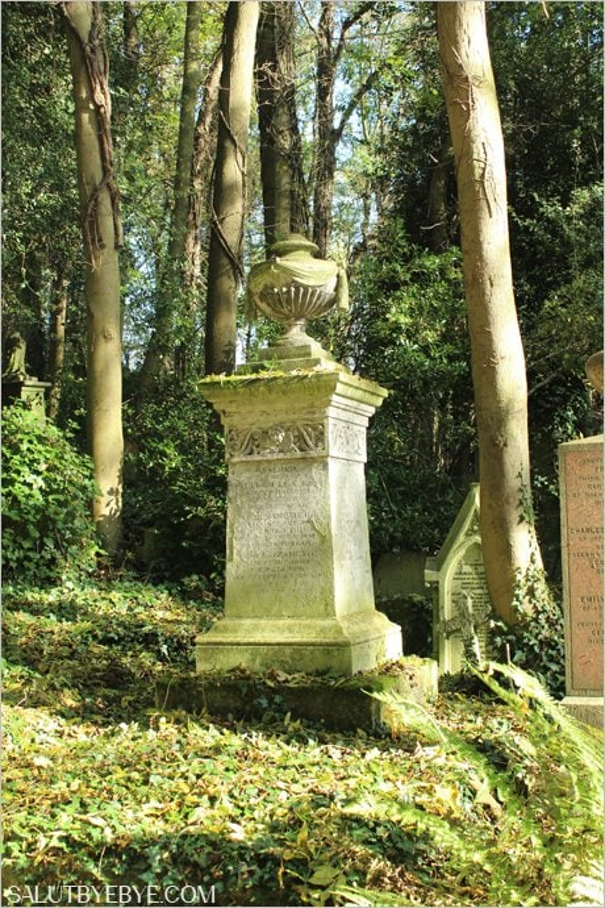 Highgate West Cemetery à Londres