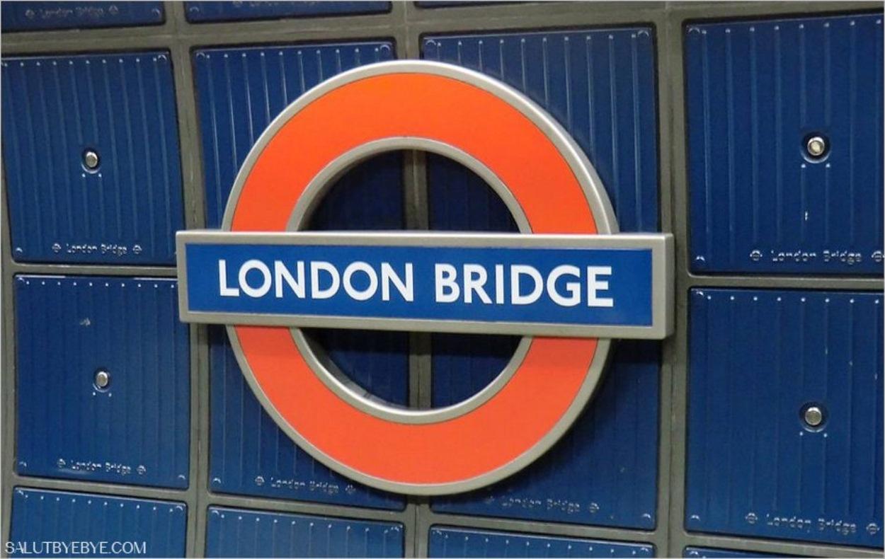La station London Bridge du métro de Londres