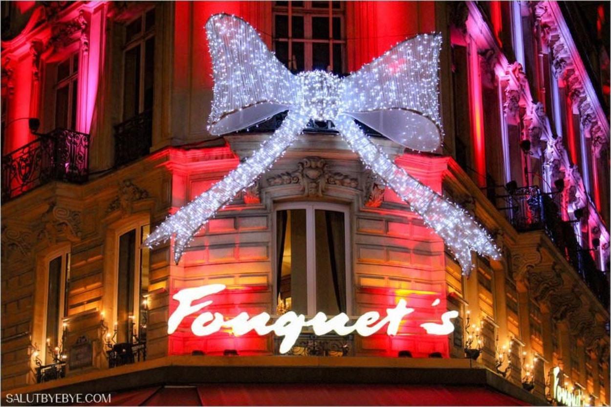 Noël à Paris - L'hôtel Fouquet's Barrière sur les Champs-Elysées