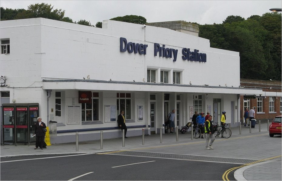 La gare Dover Priory