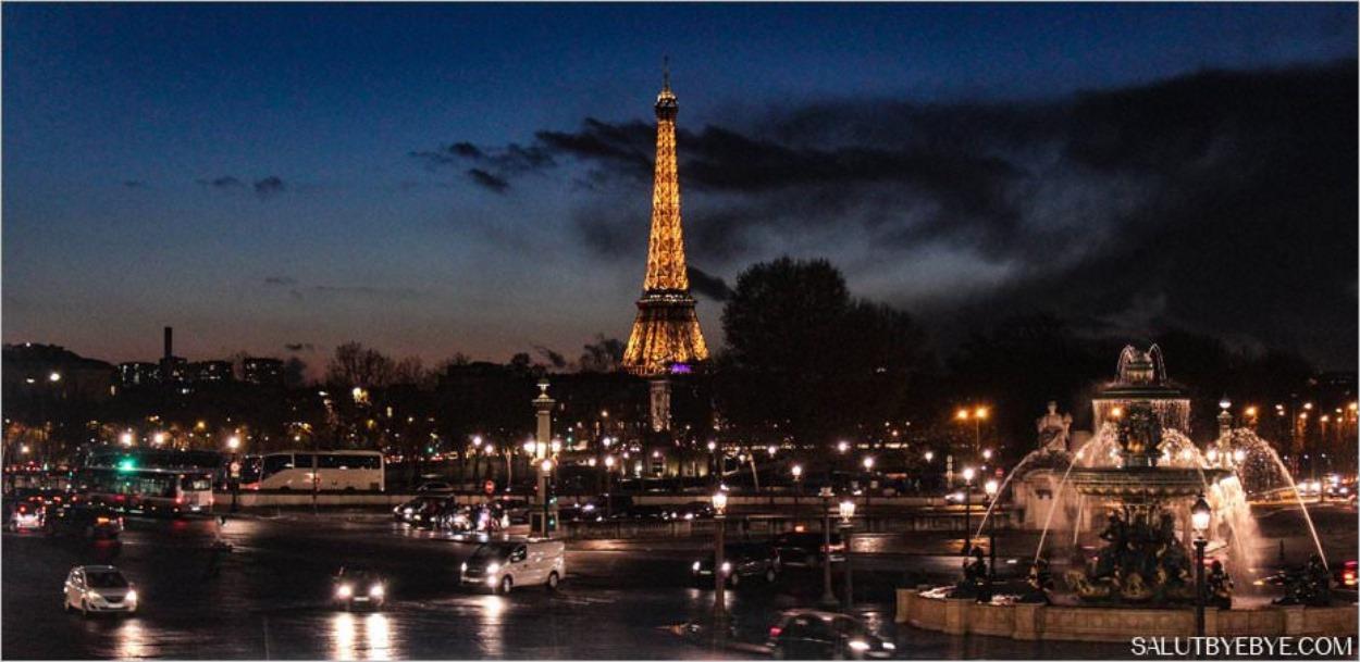 La Tour Eiffel vue depuis La Grande Roue de Paris