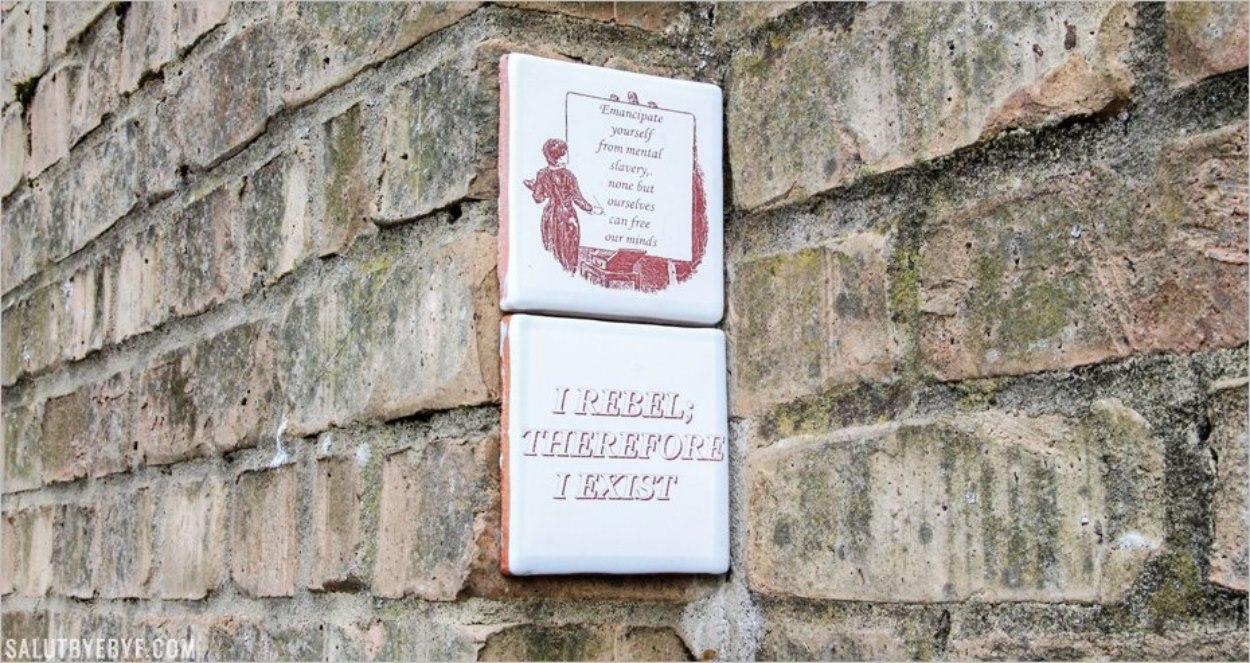 Un message de rébellion à Little Venice