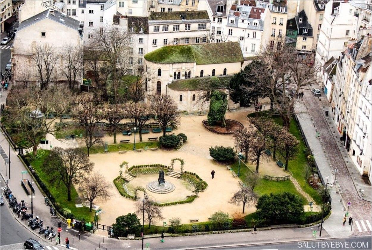 Paroisse Saint Julien le Pauvre et square René Viviani