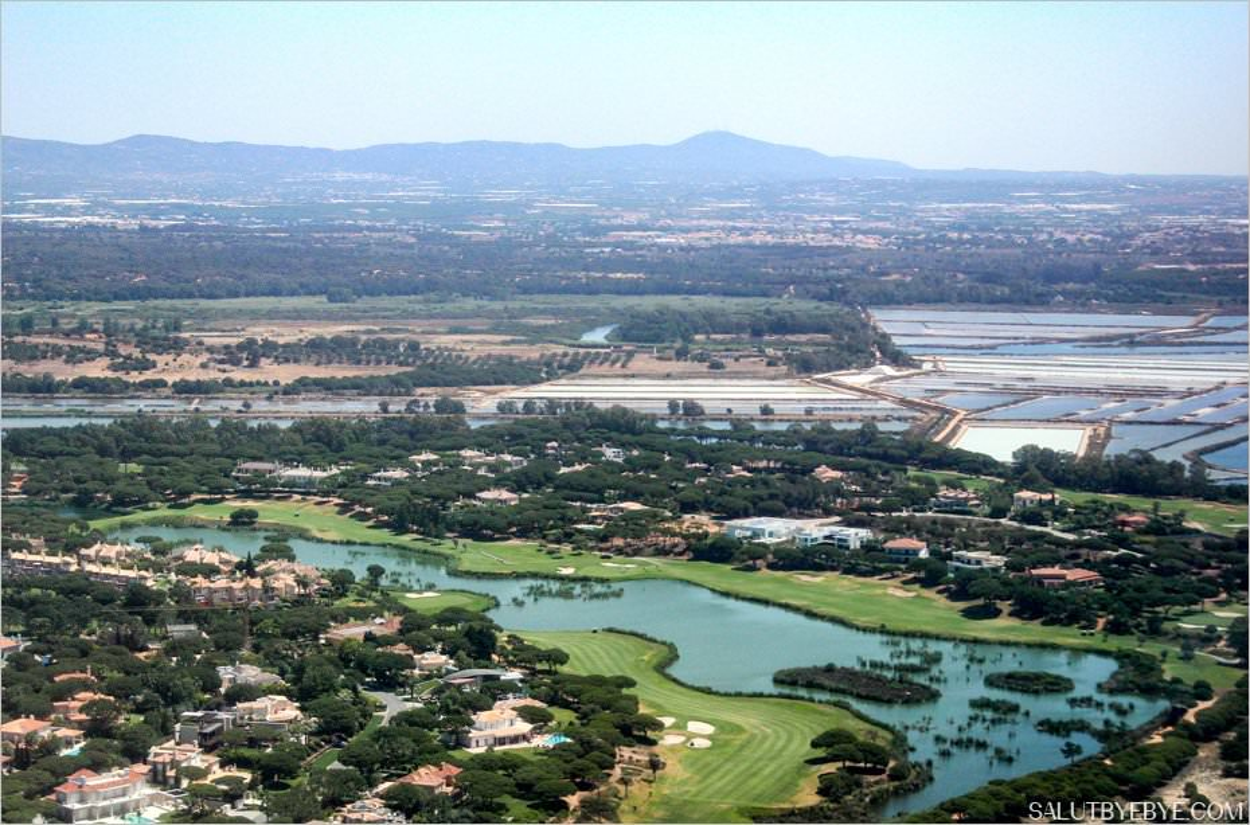 Vue aérienne de Faro