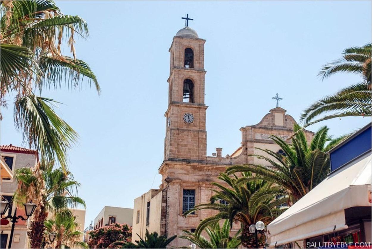 La cathédrale orthodoxe de La Canée