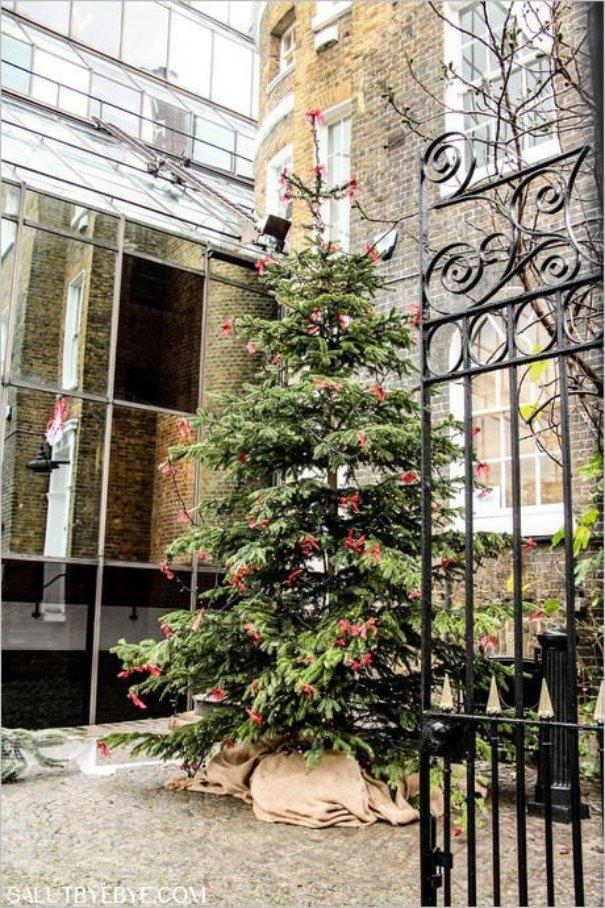 Décorations de Noël à Londres - Brick Lane
