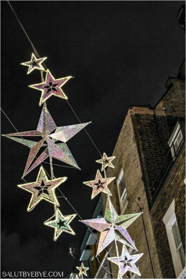 Décorations de Noël à Londres - Carnaby Street
