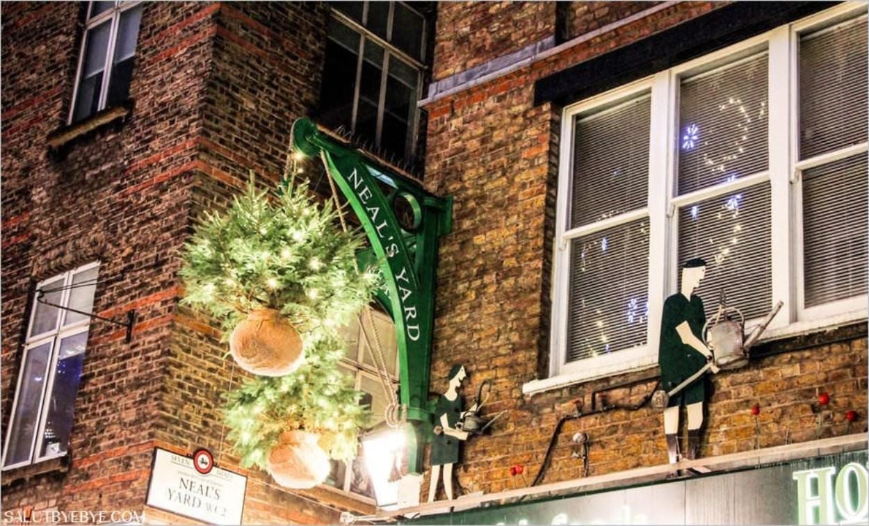 Neals Yard à Noël