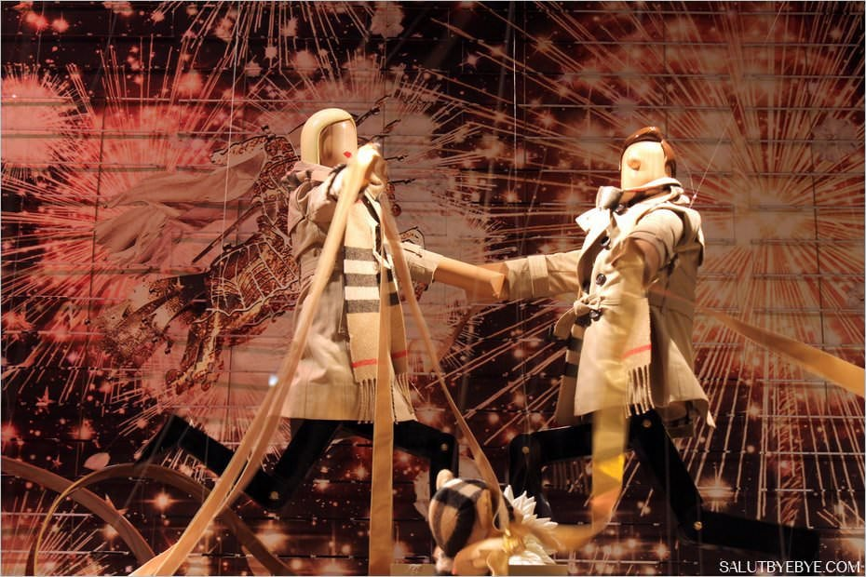 Vitrines de Noël 2015 des grands magasins - Printemps Haussmann