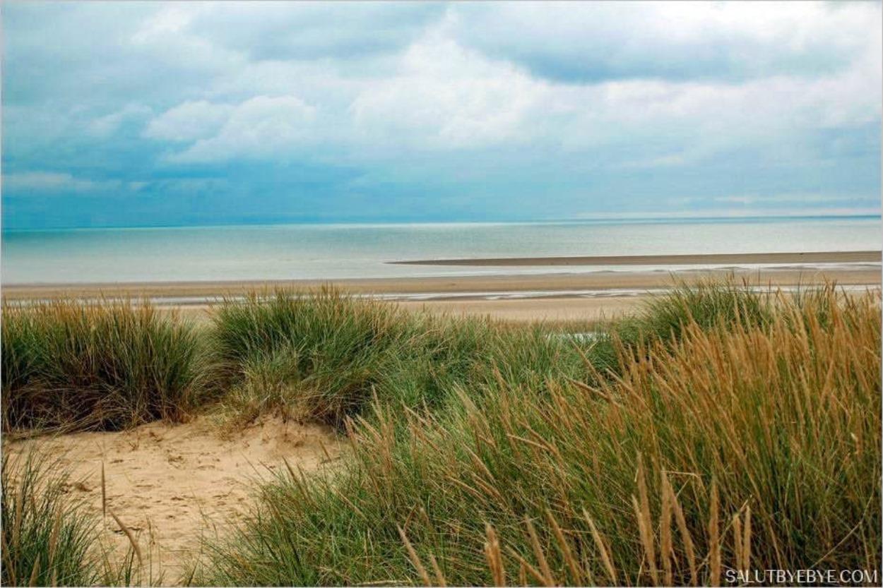 Une plage du Sussex en hiver