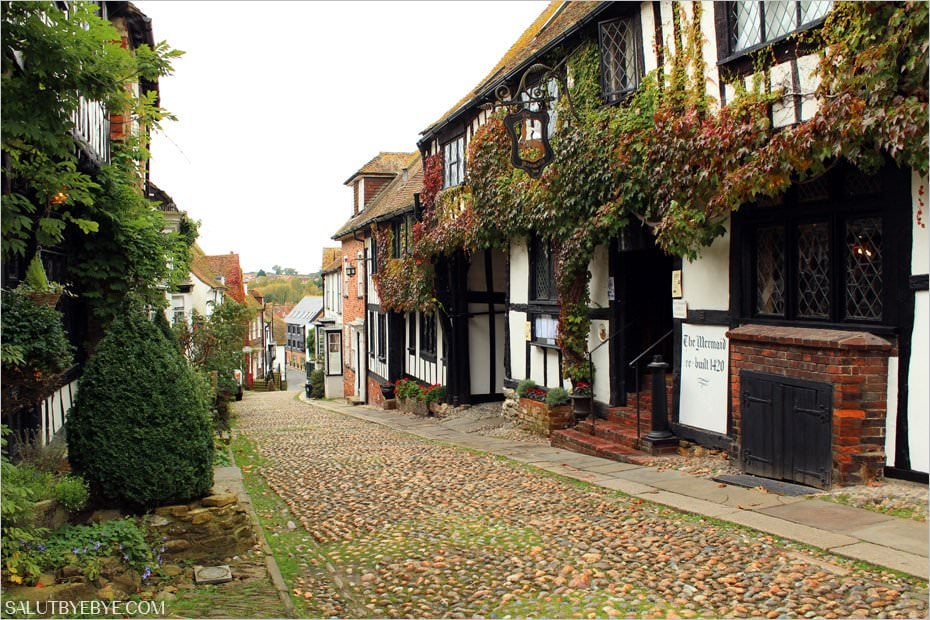 Mermaid Inn sur Mermaid Street à Rye