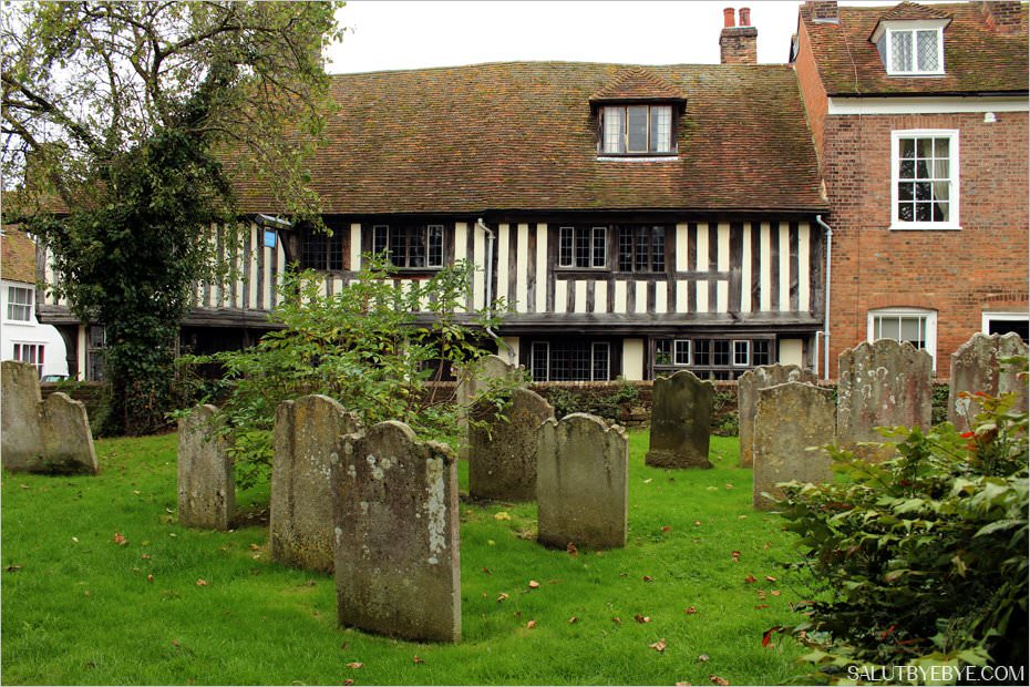 Les abords de la Saint Mary's Church à Rye, Sussex
