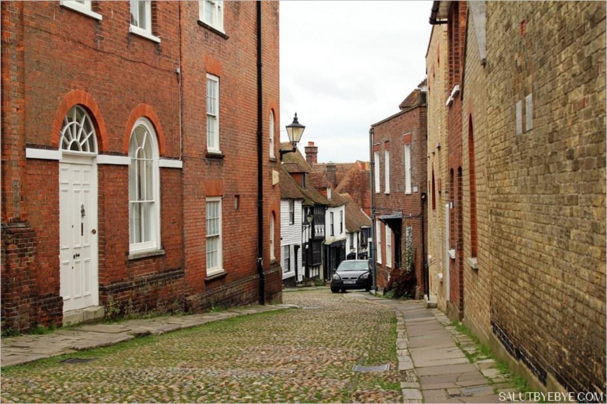 Rye dans le Sussex en Angleterre