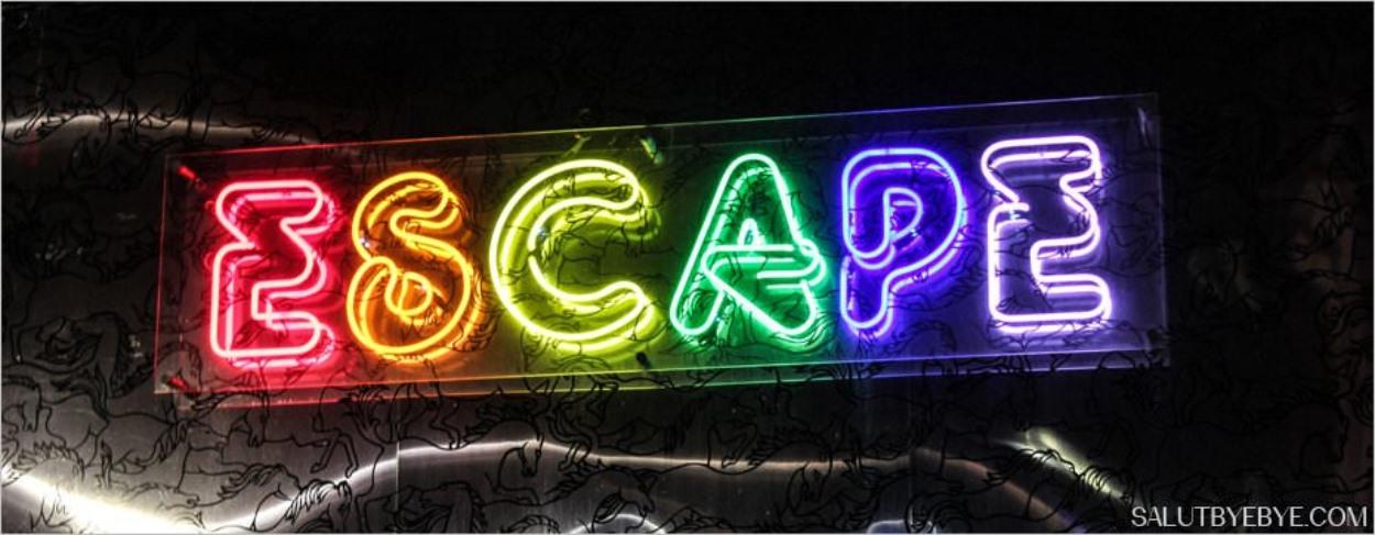Le club gay-friendly Escape