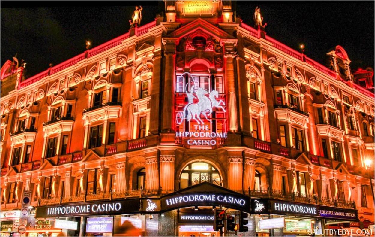 L'Hippodrome Casino à Leicester Square, Londres