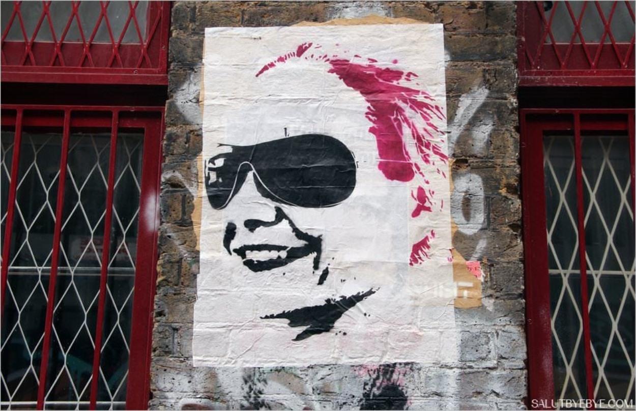 Le quartier de Shoreditch à Londres : portrait street art