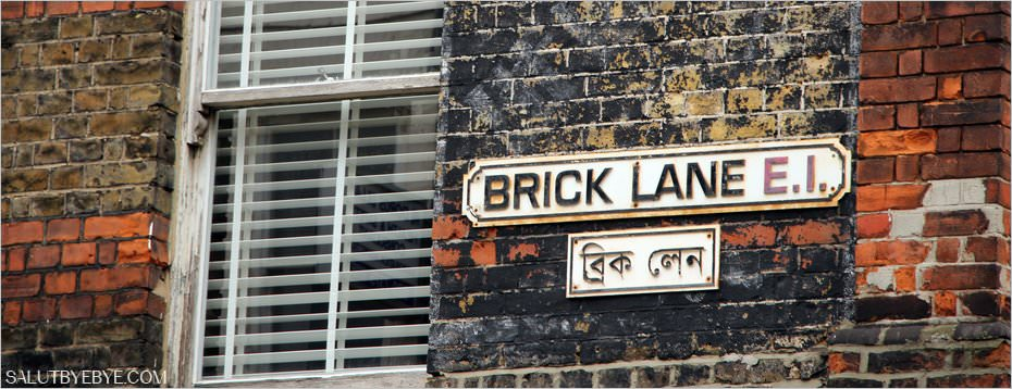 Brick Lane à Londres