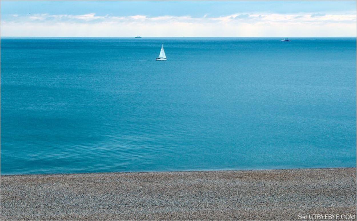 La Manche à Brighton