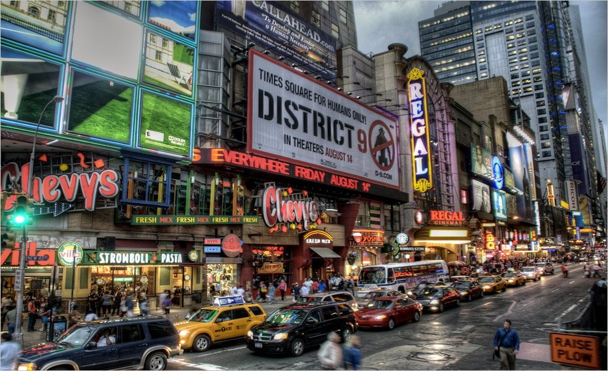 Ambiance à New York