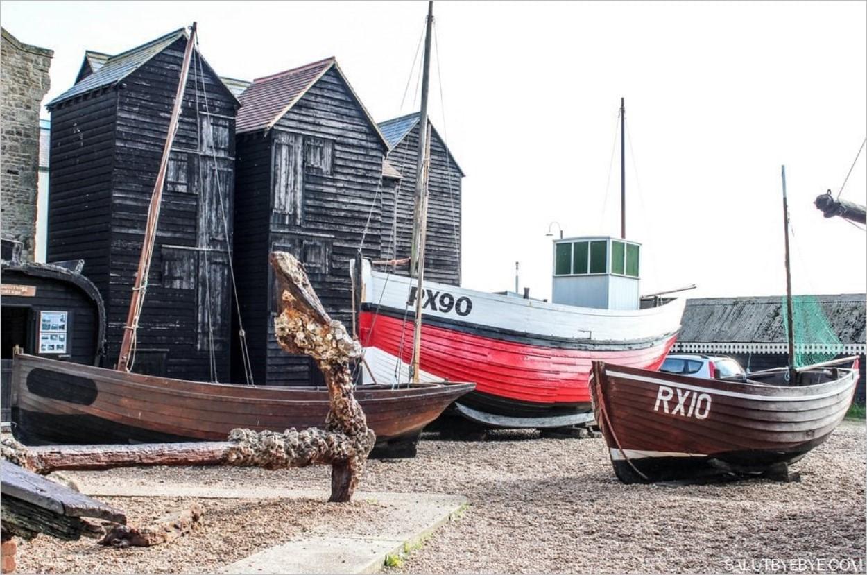 Hastings - Bateaux de pêche