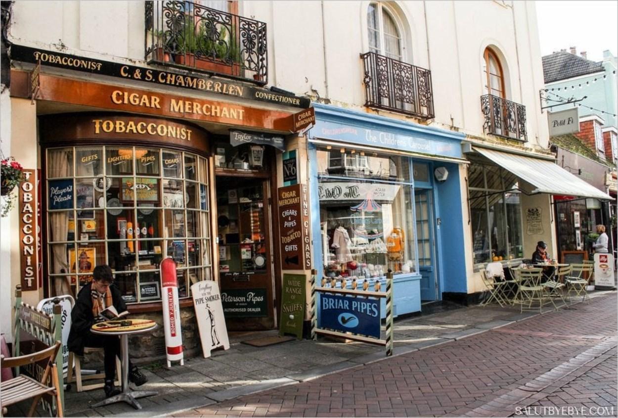 George Street à Hastings en Angleterre