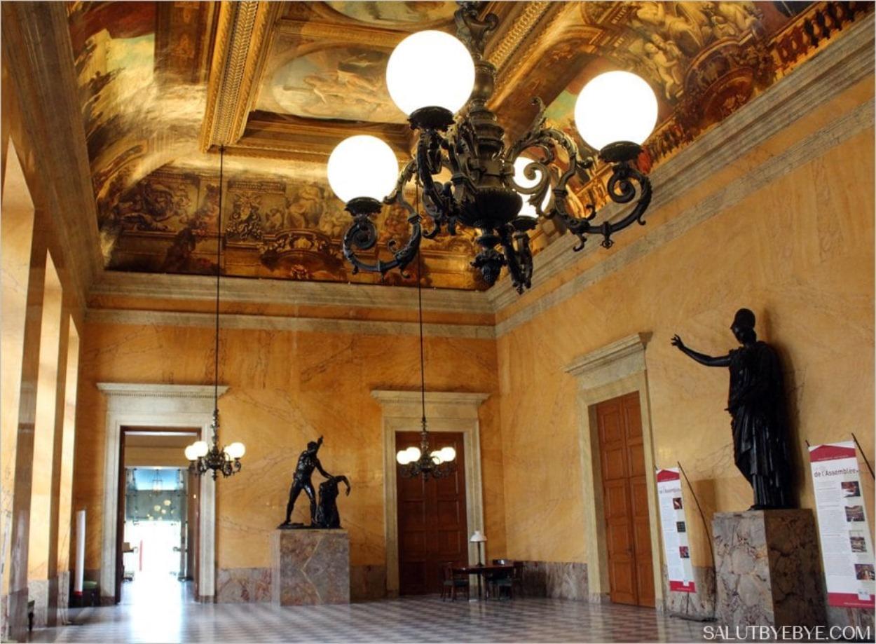 La Salle des Quatre Colonnes