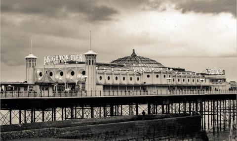 Le Brighton Pier et ses manèges, une sortie incontournable à Brighton