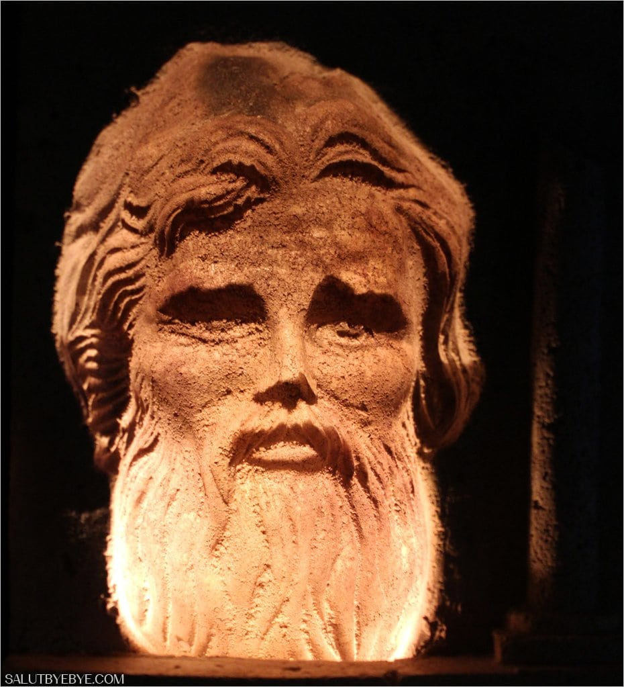 Sculpture dans la carrière de Cochin