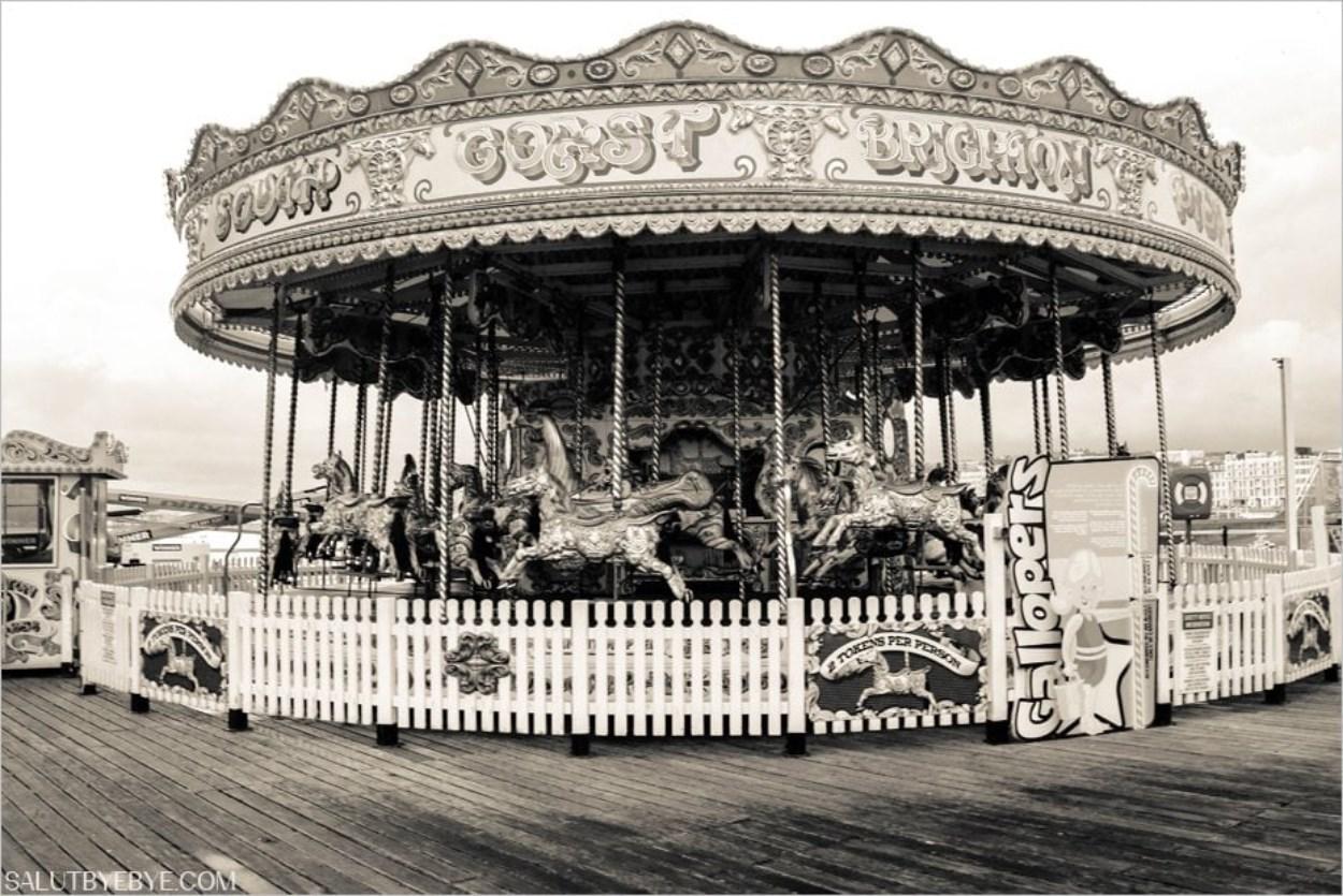 Le carrousel du Brighton Pier