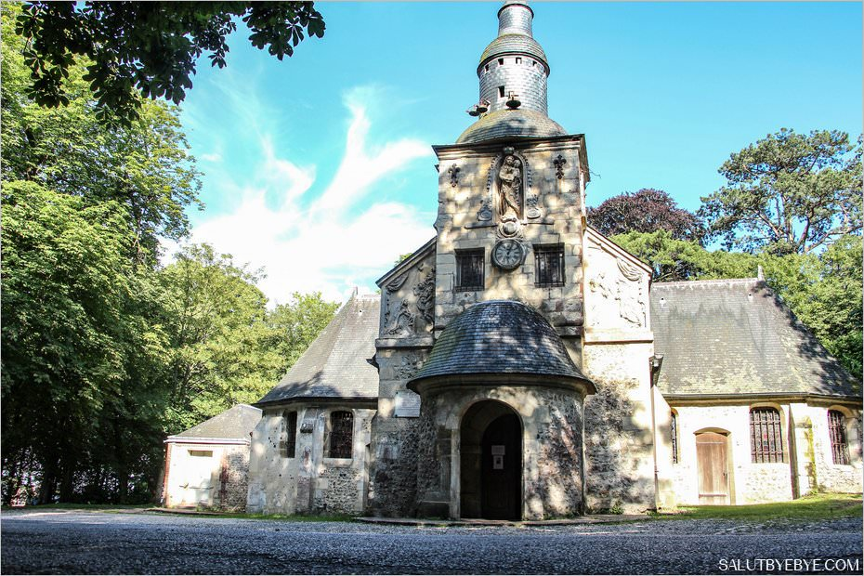 La chapelle Notre Dame de Grâce