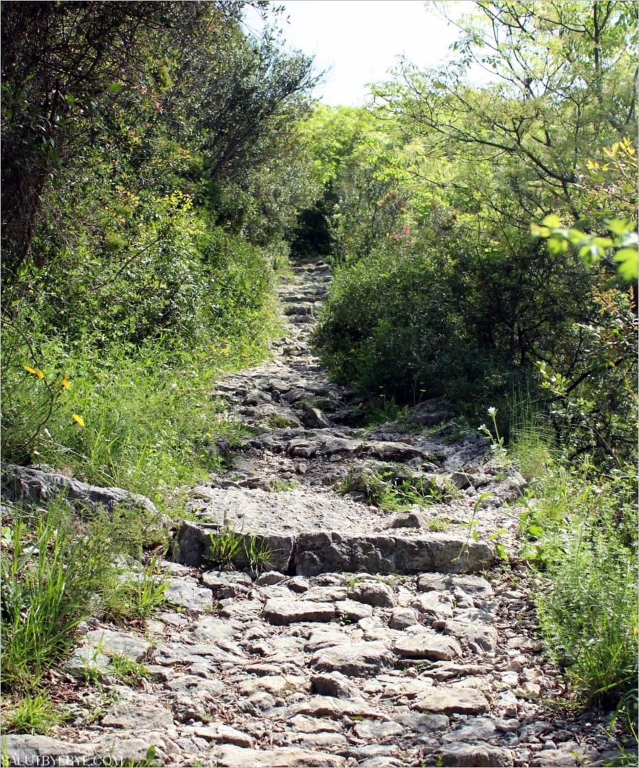 Le chemin de Nietzsche, sentier de randonnée à Eze