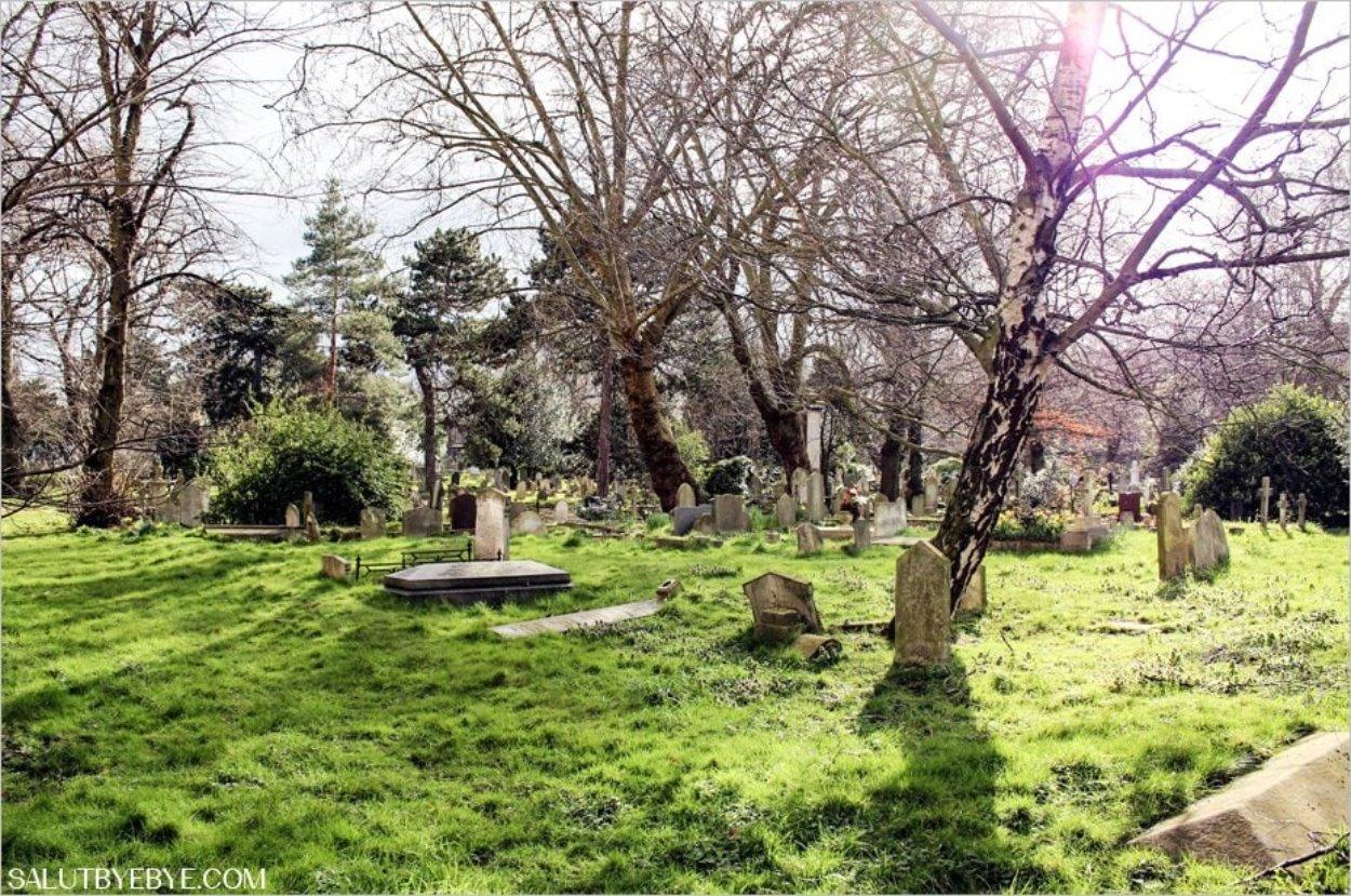 Le cimetière de Brompton à Londres