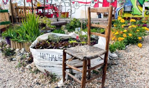 Découvrez la cité Aubry, un jardin partagé à Paris 20