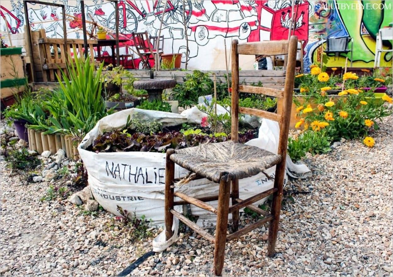 Le jardin partagé de la Cité Aubry