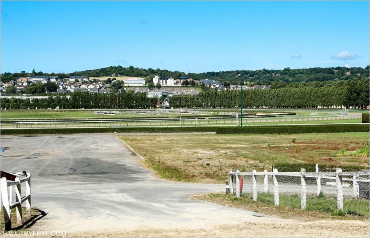 L'Hippodrome de Deauville-La Touques
