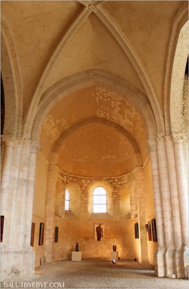 Eglise romane de Pont Loup à Moret sur Loing