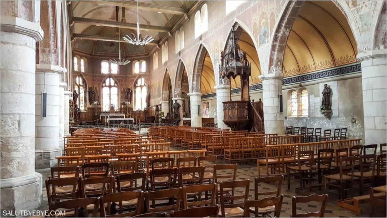 L'église Saint Léonard à Honfleur