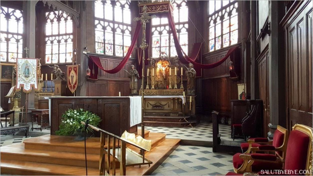 Eglise Sainte Catherine à Honfleur