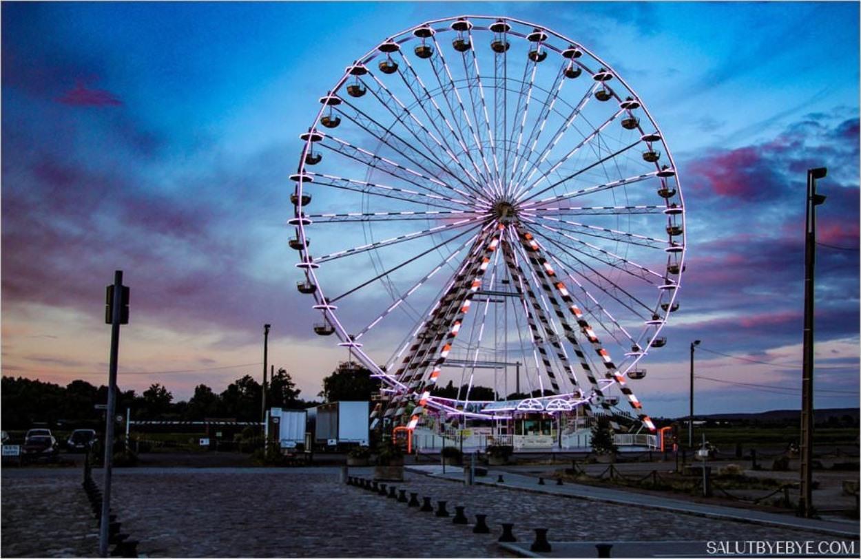 La grande roue à Honfleur