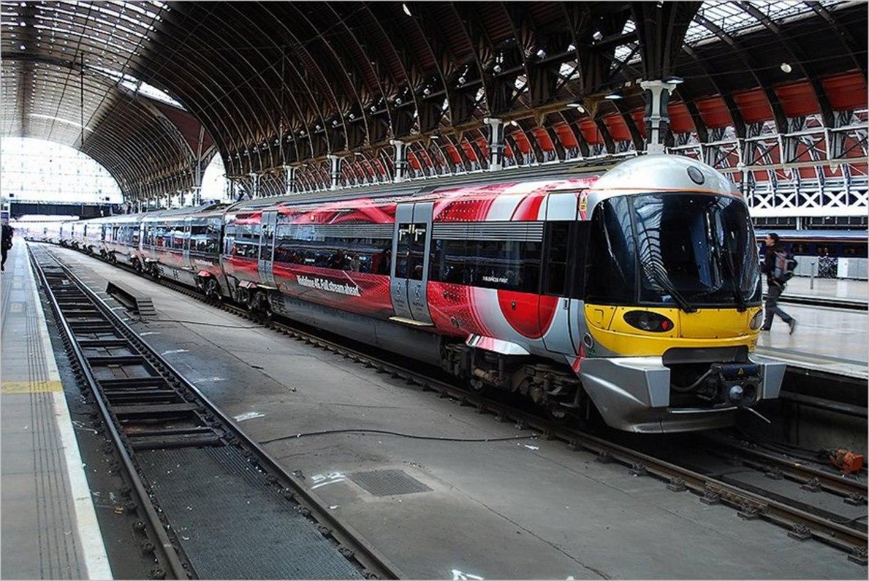 Le Heathrow Express, navette aéroport vers Londres