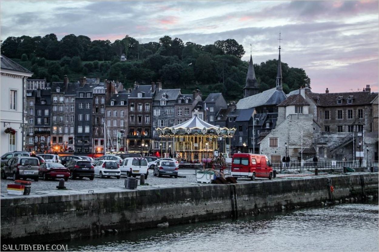 Honfleur, Normandie - Autour du Vieux Bassin