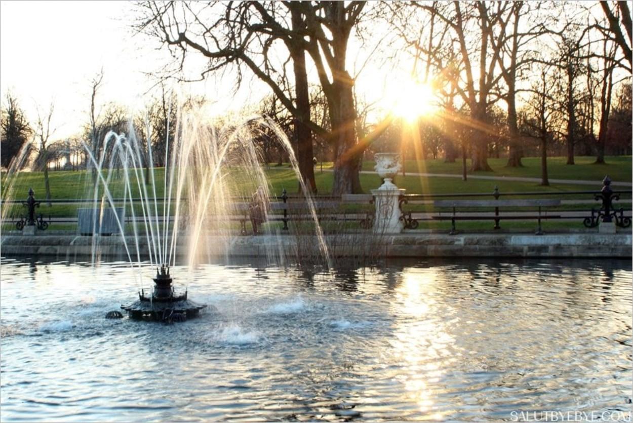 Le jardin italien des Kensington Gardens à Londres