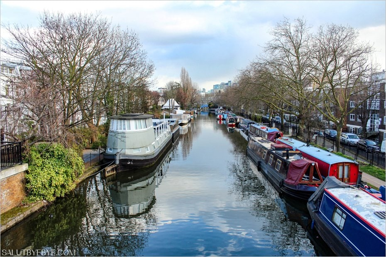 Le quartier de Little Venice à Londres