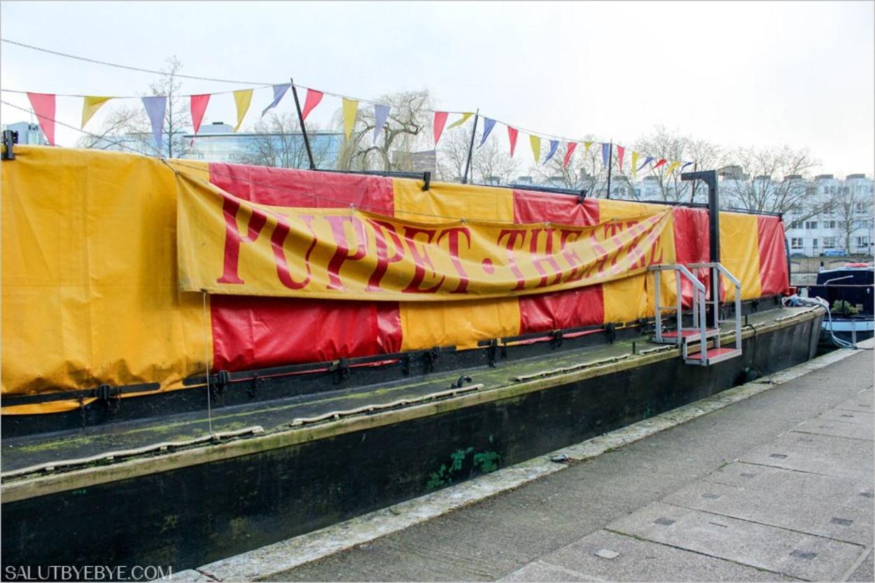 Le Puppet Theatre de Little Venice à Londres