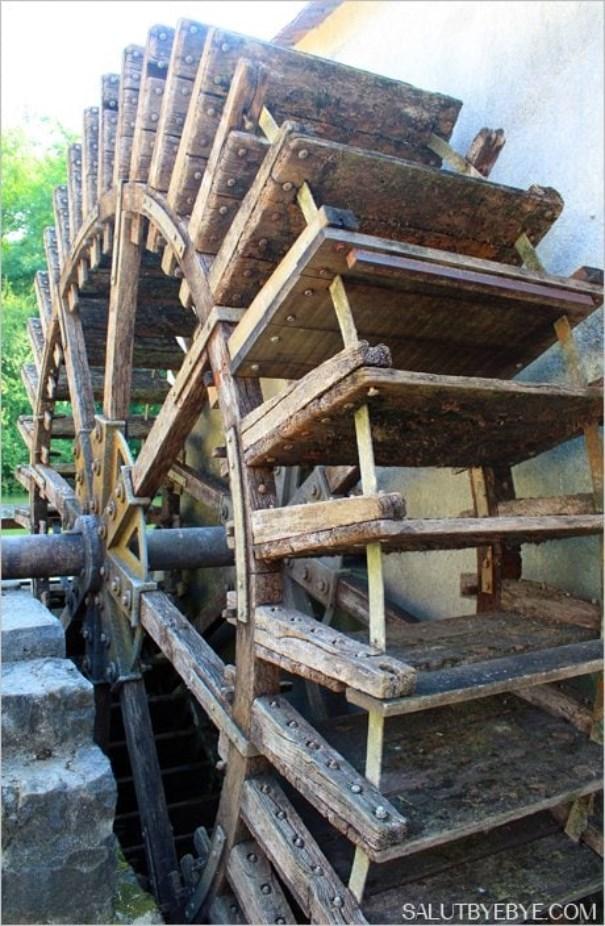 Moulin à tan à Moret sur Loing