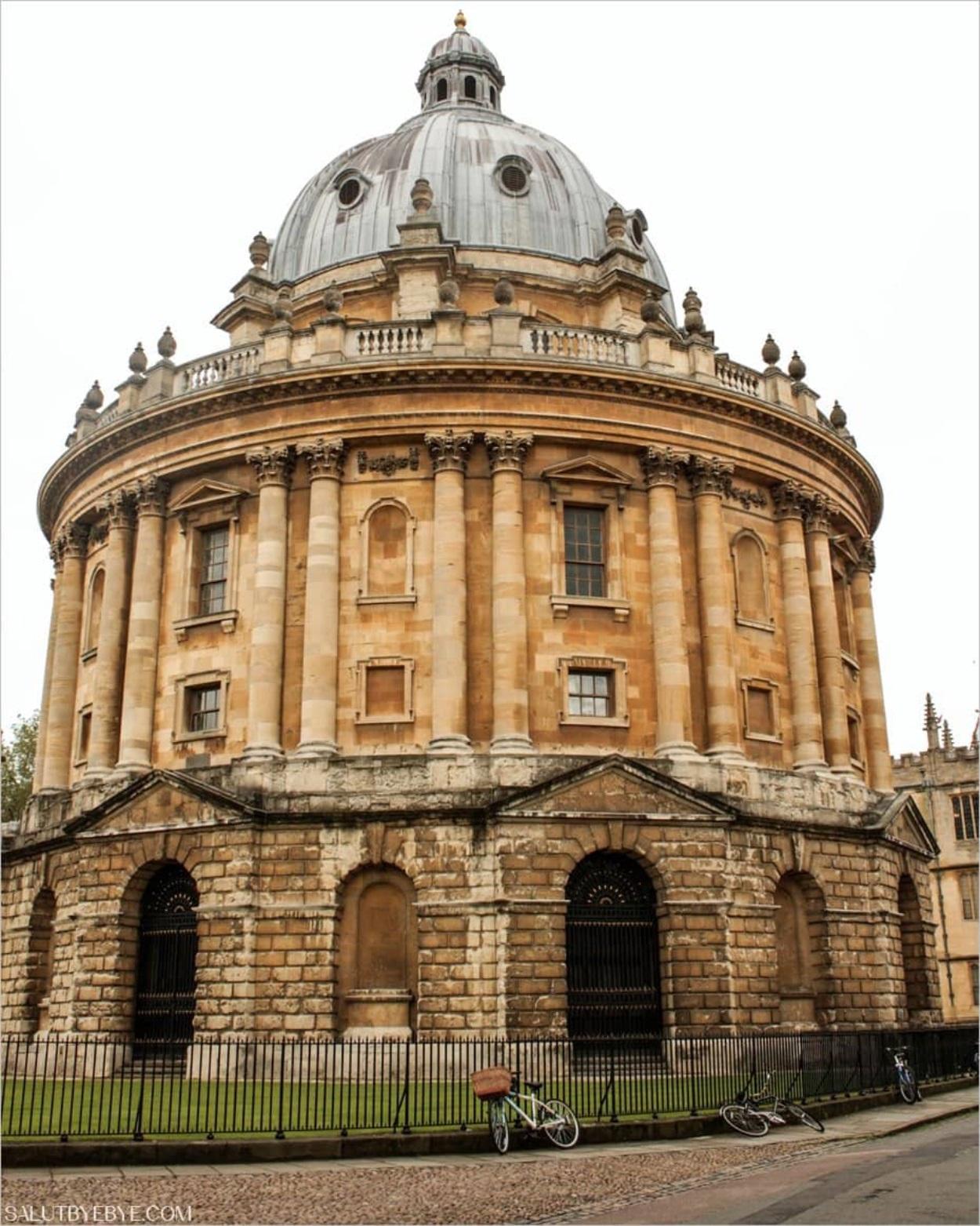 Radcliffe Camera à Oxford