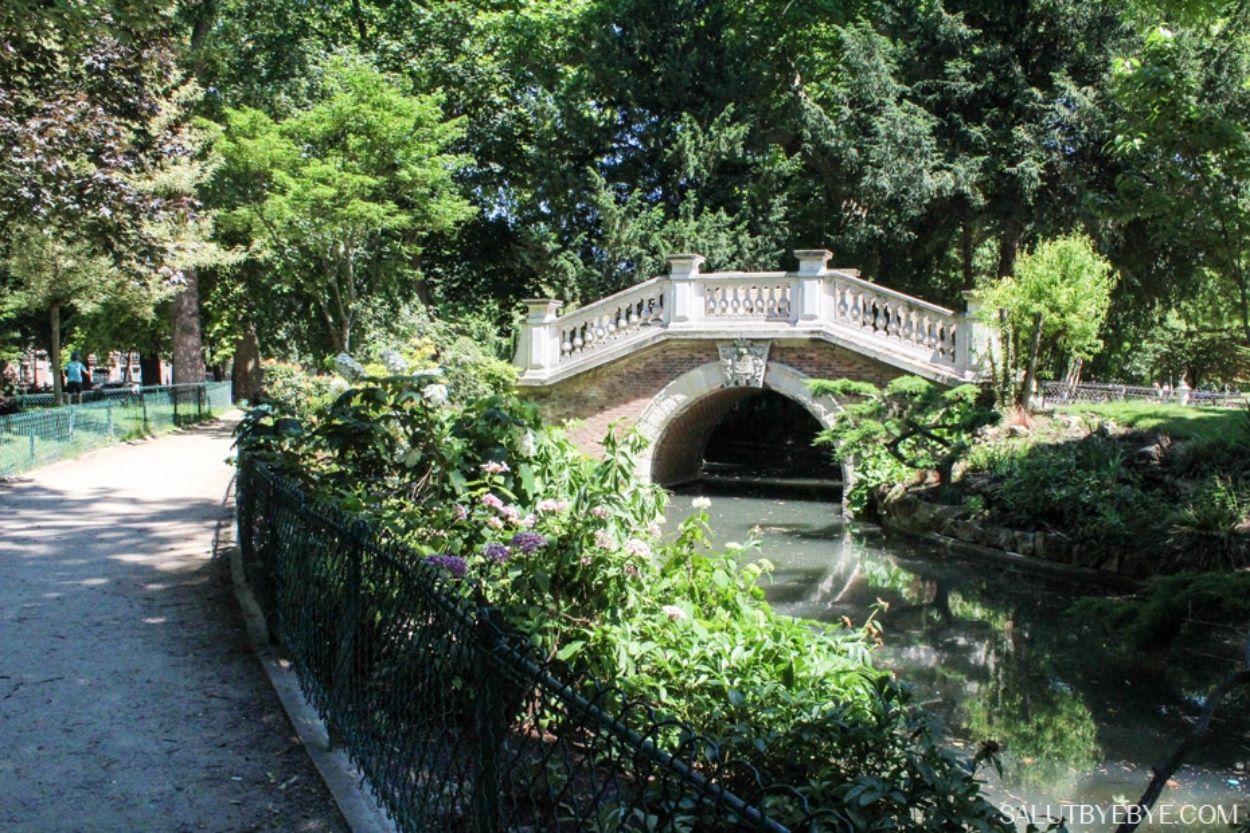 Pont au Parc Monceau