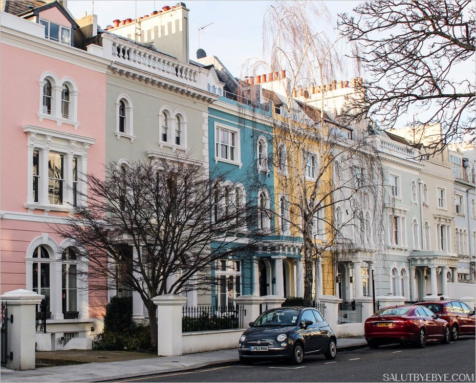 D couvrez le so chic quartier de notting hill londres - Quartier chic de londres ...