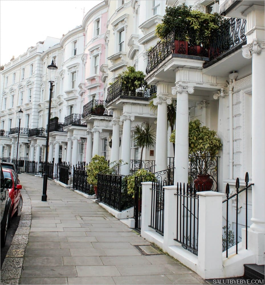 D couvrez le so chic quartier de notting hill londres - Immobilier londres location ...