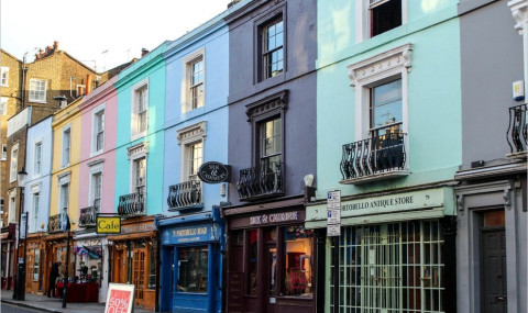 Découvrez le (so chic) quartier de Notting Hill à Londres